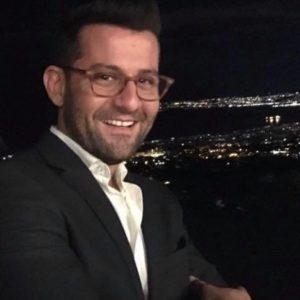 Riccardo Zaccaro, segretario del Pd Portici