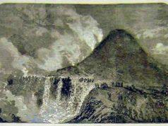 Eruzione del vesuvio 1855