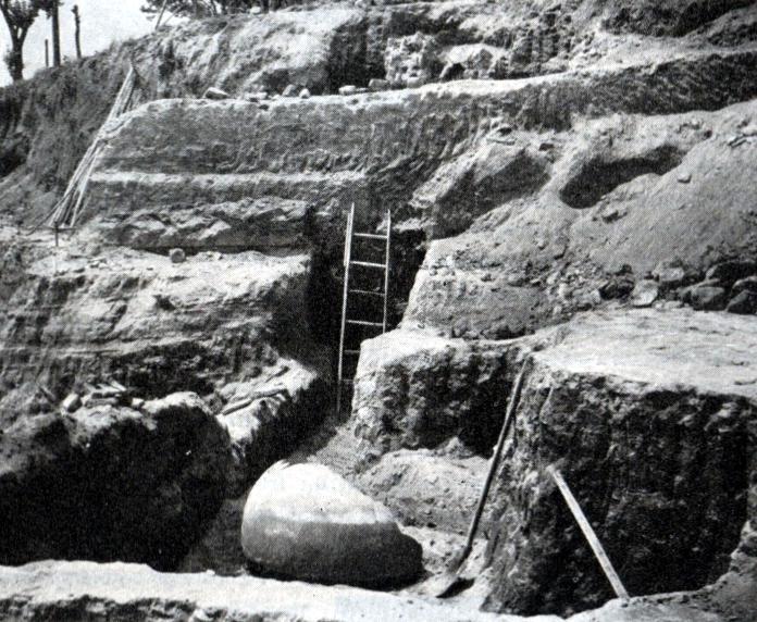 area di scavo