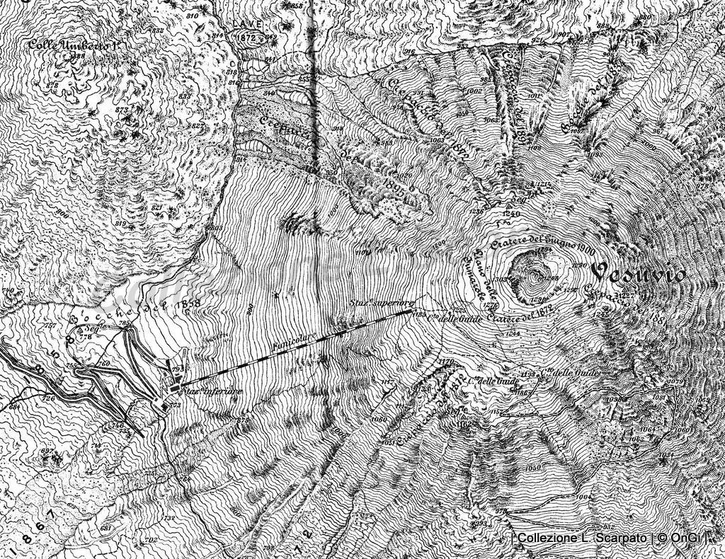 Mappa-Cono-vesuviano-prima-dell-eruzione-dell'aprile-1906
