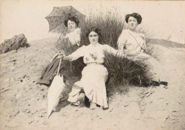 una gita al vesuvio il 15 Luglio 1910